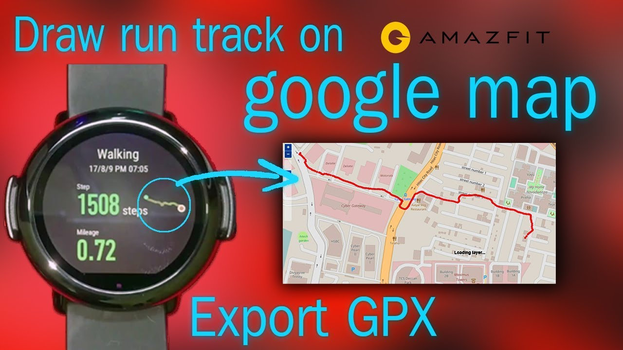 Amazfit How To Export Gps Data From Amazfit And View On