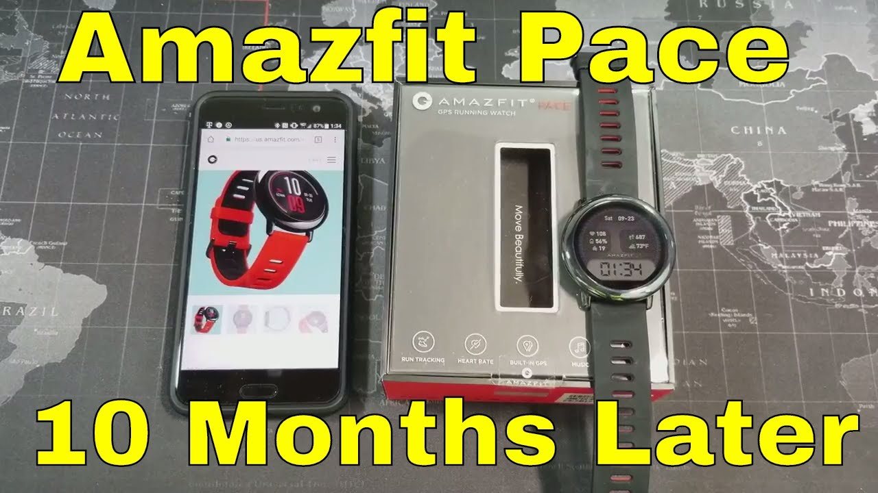 Amazfit Pace Gps Smartwatch Revisited After 10 Months