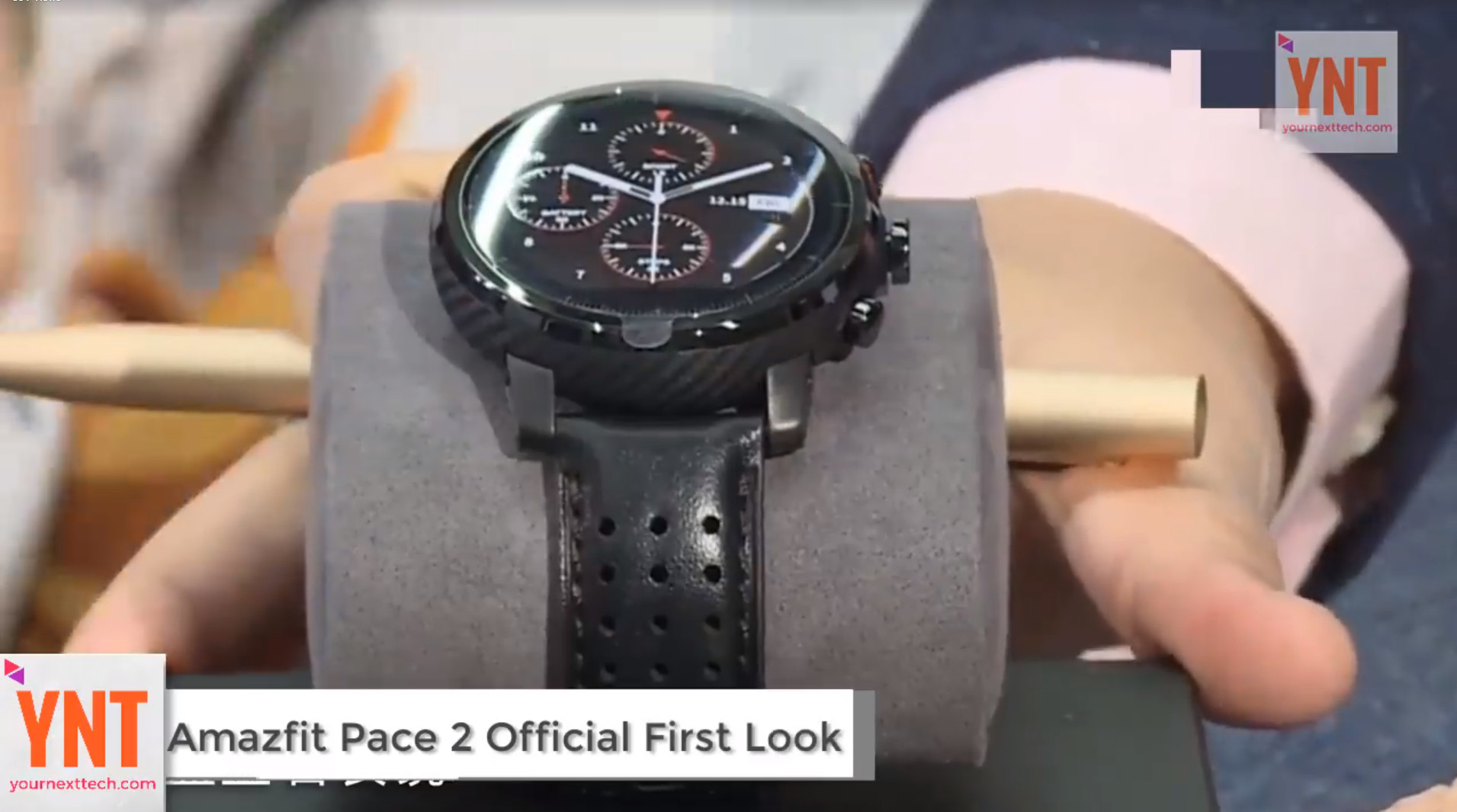 Video From Amazfit Pace 2 Launch Amazfit Central